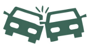 vehicle accidents in the workplace icon