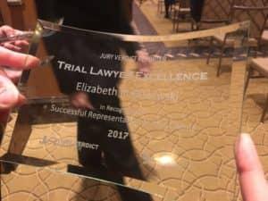 Trial Lawyer Excellence Elizabeth R. Olszewski