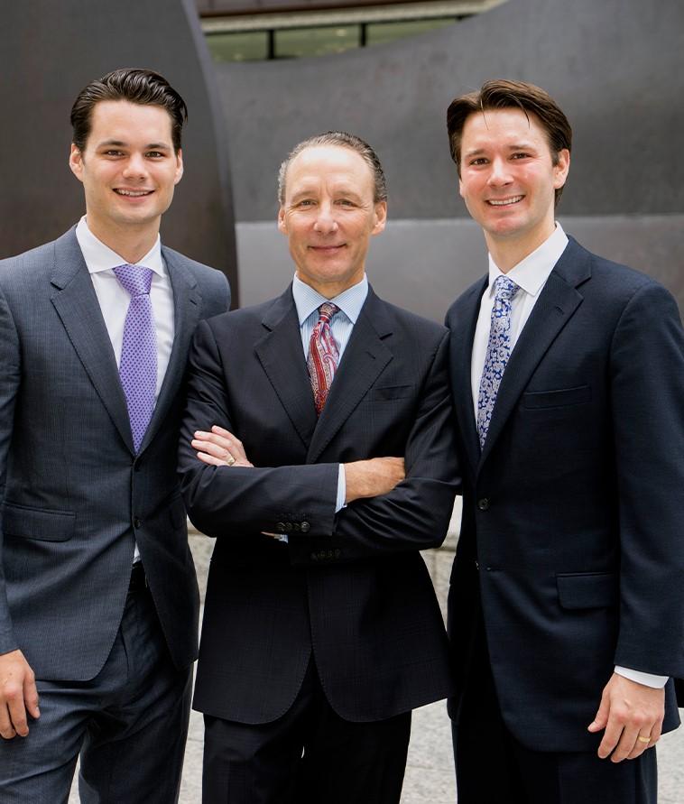 Patrick, Patrick II and Brian Salvi