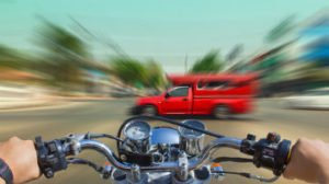 What are the causes of motorcycle accidents?